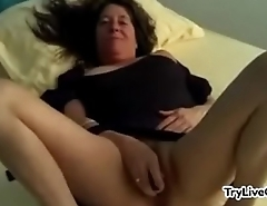 Hairy mature toying pussy at one's disposal TryLiveCam.com
