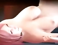 3d horny big tits animation fuck by monster