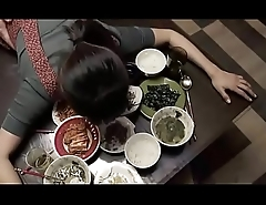 Korean household fucked while eating r�le