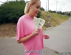 Teen Euro Babe Fucked In Public By Horny Migrant For A Infrequent Euros 27