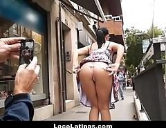 Cute Spanish Latina Teen With Braces Fucked