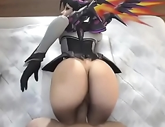 3d mercy chubby add smashing overwatch
