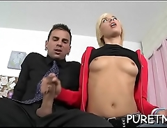 Sensational doggy style drilling