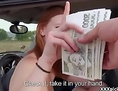 Teen European Babe Seduced By Tourist And Suck His Dick For Cash 23
