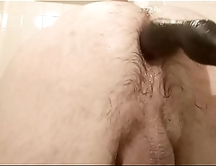 really big toy deep in my ass, rosebud and fart for extreme porn lovers