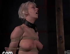 Titty castigation for naughty chick