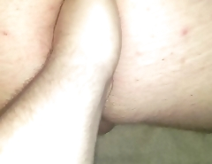 My hole getting a fist full