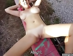 Public Pickup Amateur Teen Fucks For Money Outdoors 27