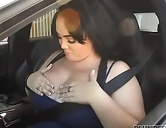 Sexy BBW Charlotte Angel Fucks The Police to Get Out of Ticket