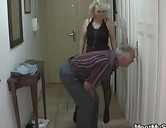 Son found his parents fucking his GF
