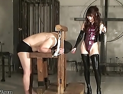 Japanese Femdom Miyuki Trampling and Facesitting