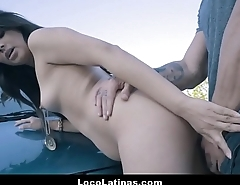 Hot Spanish Latina Teenager Hitchhiker Fucked Outdoors
