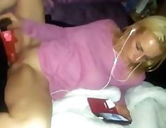 Cassie hides mums vibrator.