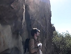 Freaky futuristic super heroes fuck outdoors in a cave - Erin Electra