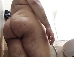 My gay ass in the shower
