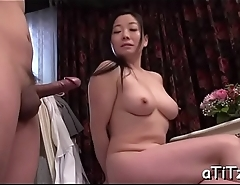 Hurtful japanese tits scrutiny