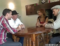 Colombian girl meet boyfriend'_s father