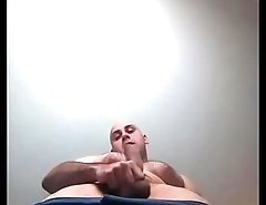 Man being verbal on a video message