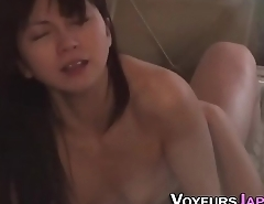 Watched asian gets fucked