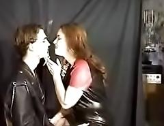 smoking kiss