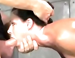 xhamster.com 3396307 milf shackled down and fucked raw by two cocks at once
