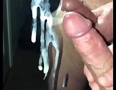My cock cumming!