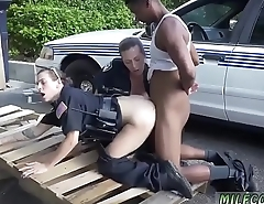 Sexy blonde milf dildo I will catch any perp with a immense black