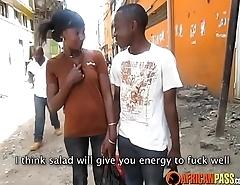 Real Amateur African friends get coltish squander