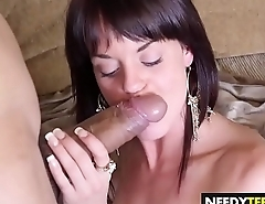 Little rich girl Rahyndee loves dicks