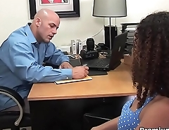 Latina with curly hair audition