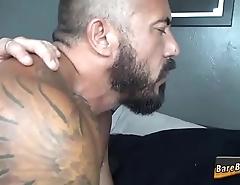 Buff bear gets fucked raw