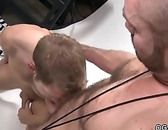 Muscular studs having fun with evermore other