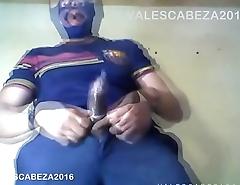 Valescabeza134 Barcelona Condom CUM mocos atrapados en condon Orgasmeado