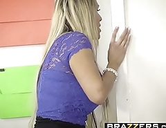 Brazzers - Chubby Tits at School - (Tegan James) - Washing Her Mouth Out With Cum