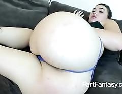 Big ass farting