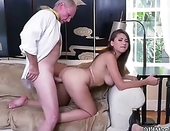 Teen hang on hardcore homemade and Ivy impresses at hand her immense