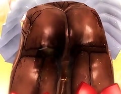 ASSura Compilation : Butt View (20  Costumes)