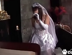Bride To Be Tanya Cox Gets Fucked By The Priest Right Before her Bridal