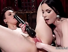 Lesbain pussy fisted and anal fucked