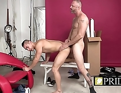 Gay pride added to love shown by a nice bareback action-1