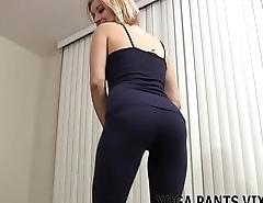 I love these hot new zebra print yoga pants JOI