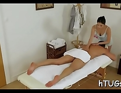 Hot asian masseuse bonks consumer