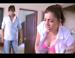 Kajal Agarwal Gauzy BOOBS show slow-motion