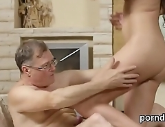 Lovesome schoolgirl gets seduced and screwed by her elderly schoolteacher