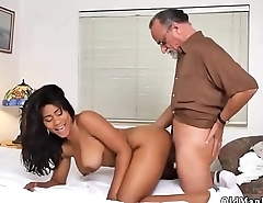 Ebony big tits and ass anal Glenn ends the job!